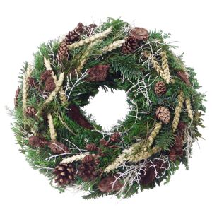 Winter wreath (for home)