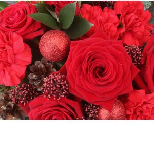 Florist's choice Christmas bouquet