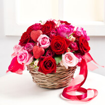 Valentine's Day Flower Arrangement